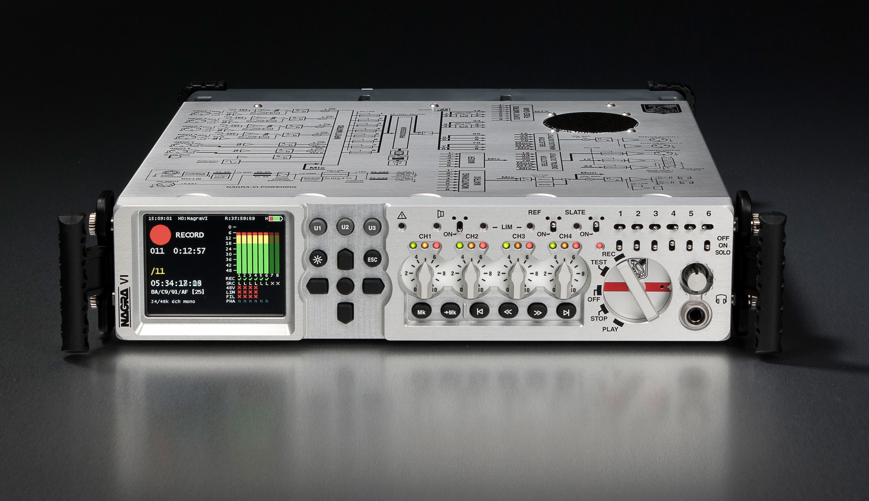 Nagra Vi Audio Recorder 6 2 Tracks Hd Cf 60th Anniversary The Preamplifier With Dual Recording Ask A Question