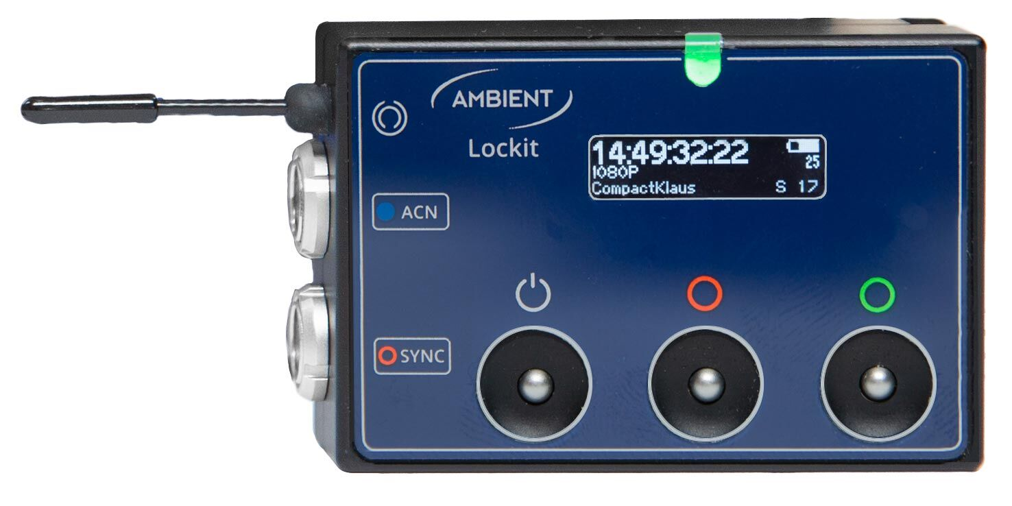 AMBIENT ACN-CL The Lockit Time Code Generator