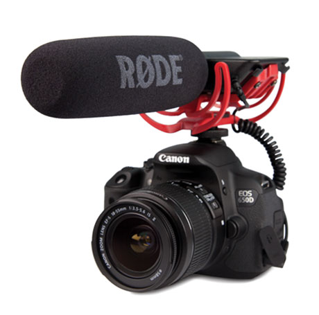 Rode videomic microfono direzionale rycote rovimic rode - Meubilair tv rode ...