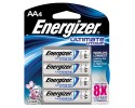 ENERGIZER Ultimate Lithium Battery, 1,5 Volt AA, 3000mAh, blister da 4