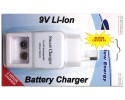 NEW ENERGY 9V Battery Smart Charger