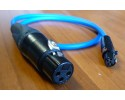NAGRIT XLR-3F to TA5F cable for Lectrosonics, line level