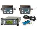 Lectrosonics RF System composed of 2x SMBW SRc, analog/digital outs