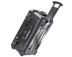 PELI Protector Case 1510, trolley, internal dim. 50.1 x 27.9 x 19.3 cm