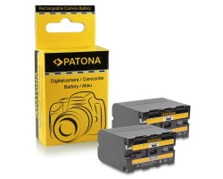 PATONA L-series Rechargeable Battery, pair, 7,2 V 6600 mAh