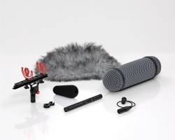 DPA 4017 B-R Shotgun Microphone with Rycote Windshield