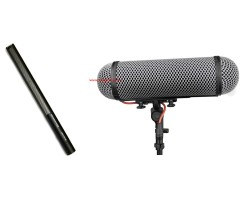 Sennheiser MKH 416 + Antivento Rycote Perfect for 416