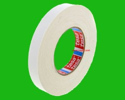 TESA 4541 Cotton tape, 25 mm x 50 mt, White
