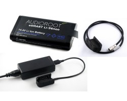 AUDIOROOT Kit: Single Charger plus 1x Li-NEO Battery with HiRose cable