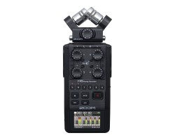 ZOOM H6 Black Registratore Audio Portatile
