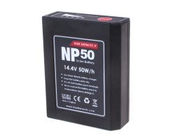 Hawk-Woods NP-50 Lithium-Ion NP1 battery, 50 Watts