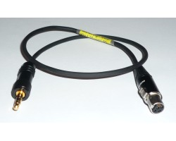 NAGRIT Output cable for MTCR Line out to TA5F line input for Lectrosonics
