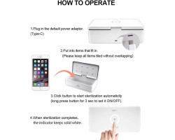 UV Sterilizer S2 for iphone, miniCMIT and similar