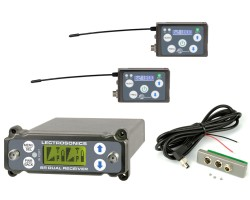 Lectrosonics RF System composed of 2x SSM SRc, analog outs