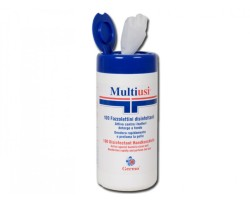 Multiusi 100 Disinfecting and Cleanig Wipes