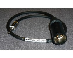 NAGRIT Mic Cable from XLR 3-pin to stereo mini-jack