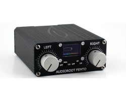 AUDIOROOT Stereo Mic Preamp, 48v ph, battery, ext DC
