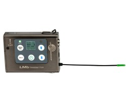 Lectrosonics RF System composed of 2x LMB SRc, analog/digital outs